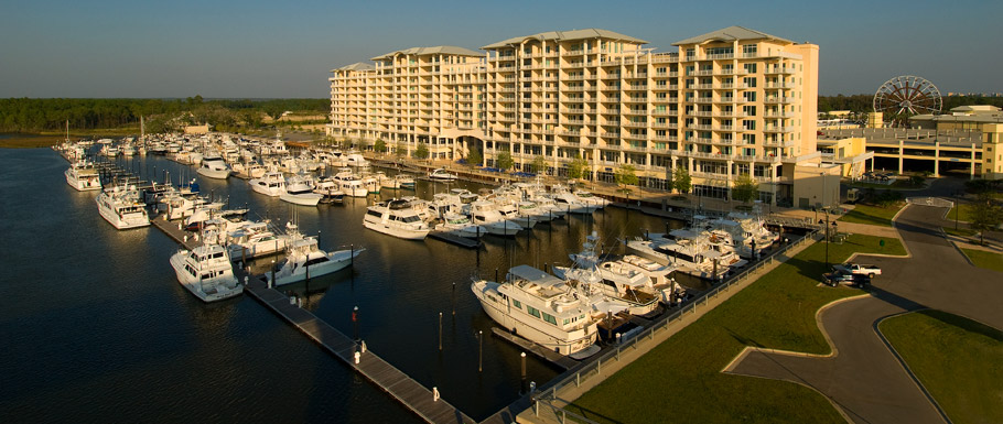 The Wharf Marina, Orange Beach Alabama